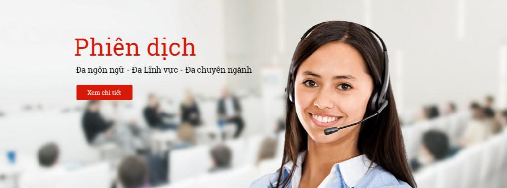 Dịch vụ phiên dịch viên chuyên nghiệp - cung cấp phiên dịch viên