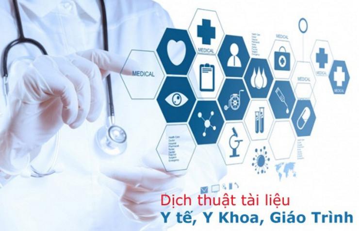Dịch tài liệu chuyên ngành y dược sang tiếng Việt nhanh chóng tiện lợi