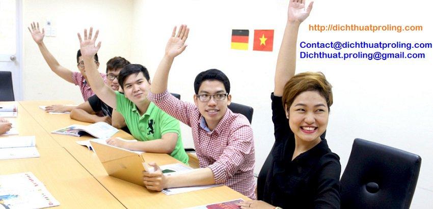 Nhận công chứng học bạ - giấy tờ - hồ sơ tiếng Đức- dịch sang tiếng Phpas - Hàn Quốc