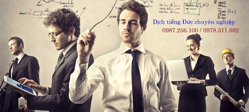 dịch thuật tiếng Đức sang tiếng Việt và các ngôn ngữ khác