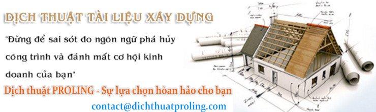 Dịch thuật PROLING - dịch thuật tài liệu chuyên ngành giá rẻ và uy tín bậc nhất Tại Hà NỘi
