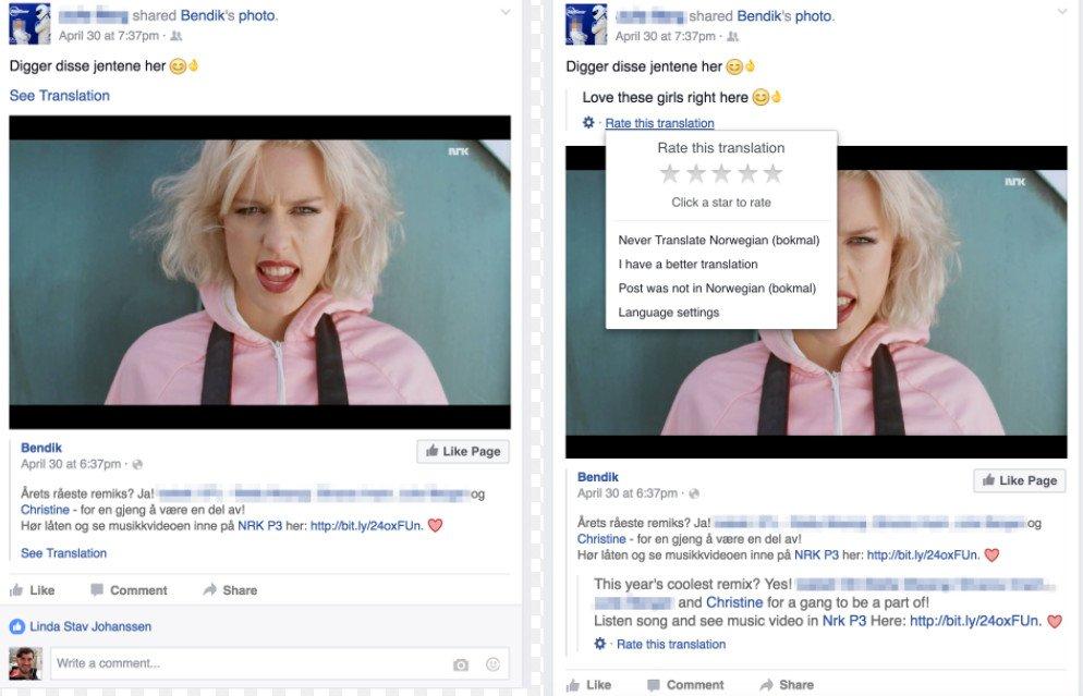 Công tác dịch thuật và chuyển đổi ngôn ngữ đã và đang được Facebook triển khai