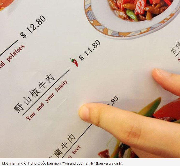 Dịch thuật văn bản - tài liêu- Menu khách sạn nhà hàng