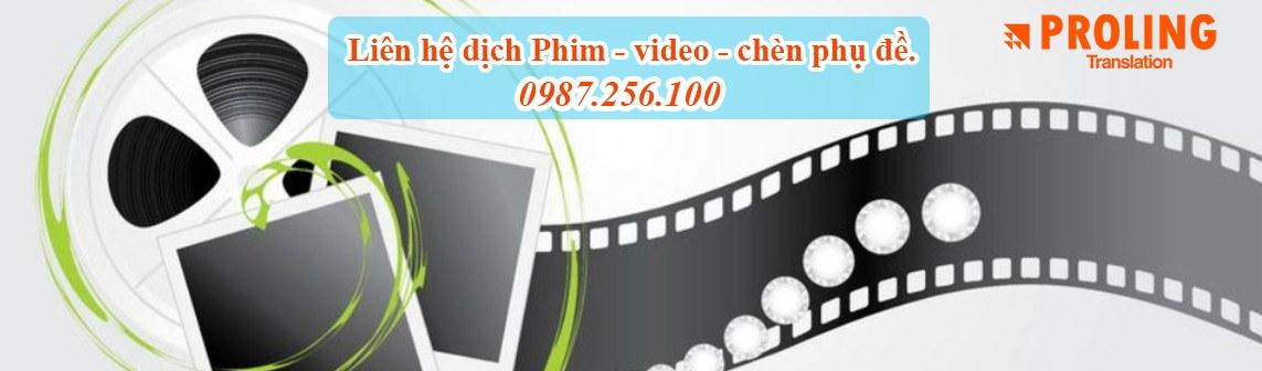 Dịch thuật Video đơn giản bới công ty dịch thuật chuyên nghiệp và uy tín