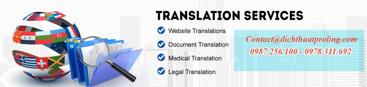 Công ty chuyên dịch tài liệu ở Hà NỘi