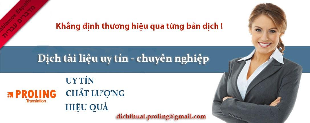 Công ty chuyên dịch thuật tiếng Séc sang tiếng Việt