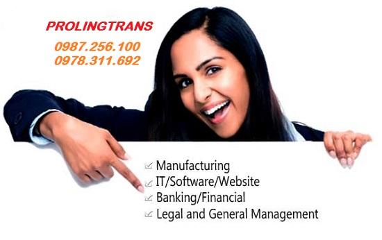Nhận dịch thuật và chuyển ngữ phần mềm cho mọi cá nhân tổ chức có nhu cầu
