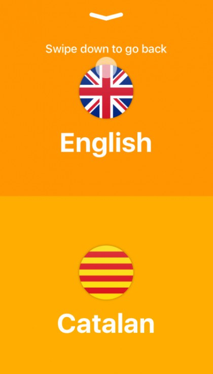 Phần mềm dịch thuật chỉ dành riêng cho điện thoạt iOS