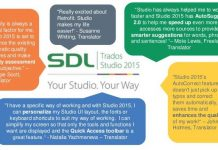 Những tính năng chính của phần mềm dịch thuật TRADOS bạn cần biết