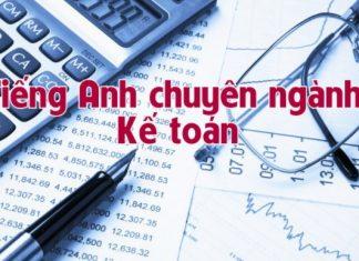 Dịch thuật tài liệu tiếng Anh chuyên ngành kế toán