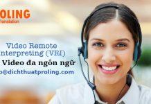 Dịch thuật Video uy tín - chuyên nghiệp