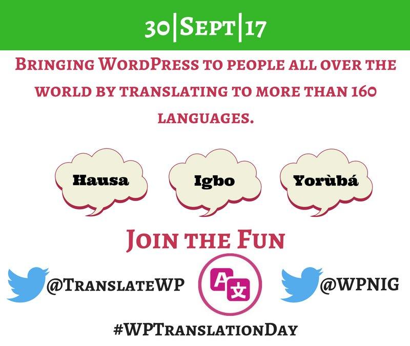 Sự kiện dịch thuật quy mô toàn thế giới dành cho WordPress